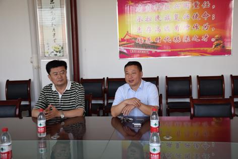 自治区民政厅社会工作处刘智勇处长来院检查指导工作